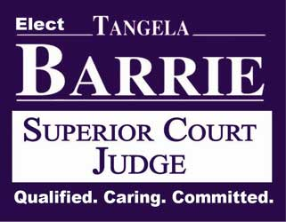 Re-Elect Judge Tangela Barrie